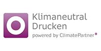 Siegel Klimaneutral Drucken von ClimatePartner