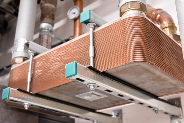 Anlage zur Wärmerückgewinnung aus dem Produktionsprozess